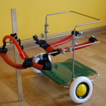 Wózek inwalidzki dla psa - mały