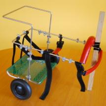 Wózek inwalidzki mały dla psa